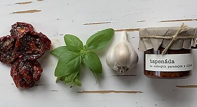 Potraviny - tapenáda zo sušených paradajok s olivami - 11183315_