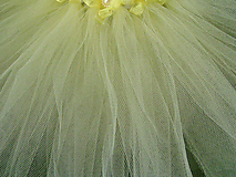 Detské oblečenie - Žltá suknička+palička - 11182355_