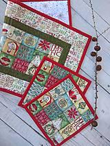 Úžitkový textil - Menší stredový obrus s prestierkami - 11183113_