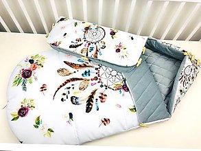 Textil - Zimný fusák pre bábätko - 11181854_