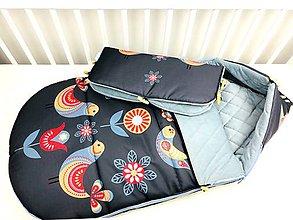 Textil - Zimný fusák pre bábätko - 11181862_