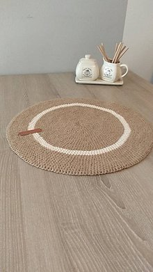 Úžitkový textil - Hačkované prestieranie na stôl - 11184273_