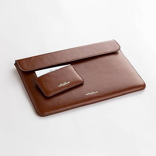 Kožený obal na macbook - tablet - notebook