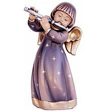 Dekorácie - Strážny Anjel s flautou - 11183345_