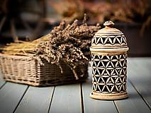 Svietidlá a sviečky - Aromalampa patina burel - KVĚT ŽIVOTA - 11184320_