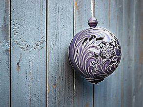Dekorácie - Aroma difuzér velký levandulový - 11185237_