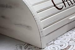 Nádoby - chlebník v krémovej farbe s patinou - 11182216_