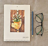 Papiernictvo - Kalendár 2020 - 11184257_