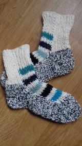 Obuv - ponožky veľ.37-38 - 11183758_