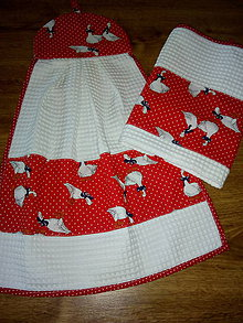 Úžitkový textil - sada utierok - 11185378_