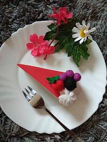 Hračky - Šitý ovocný cheesecake Real - 11181700_