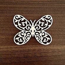 Polotovary - Ornament motýľ - 11184807_