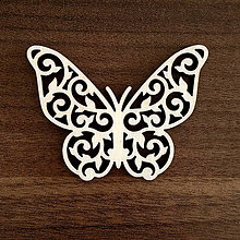 Polotovary - Ornament motýľ - 11184834_