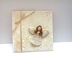 Papiernictvo - Pohľadnica ... Anjelské vianoce I - 11188607_