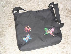 Iné tašky - Taška na kočík Motýliky - nepremokavá - 11188889_