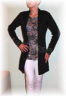 Svetre/Pulóvre - Kabátek bez zapínání-svetrovina(více barev) (Červená) - 11188244_