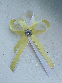 Pierka - Svadobné pierka žlté - 11186159_