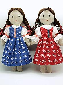 Bábiky - Zuzka (Bábika -modrá) - 11186335_