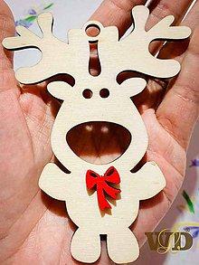 Dekorácie - Vianočný sobík - 11188090_