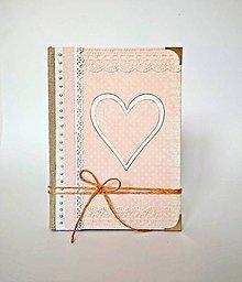 Papiernictvo - Zápisník * diár * svadobný plánovač A5 linajkový - 11186292_