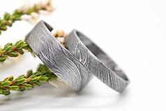 Prstene - Damaškové obrúčky - 11185799_