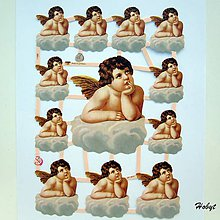 Papier - Papierové výrezy - anjel - 11186328_