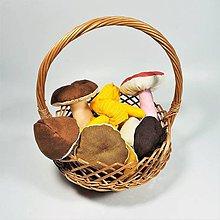 Dekorácie - Textilné hríby - 11185831_