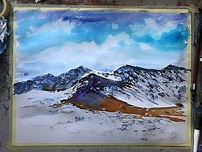 Obrazy - Zima v Tatrach - 11186466_