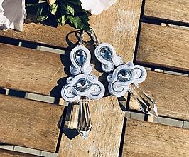 Náušnice - Náušnice CLARA - 11186492_