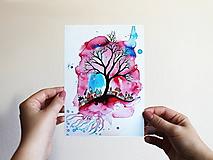 Grafika - Snový kúsok zeme - print - 11187625_