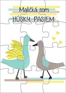 Hračky - Puzzle - Húsky - 11186622_