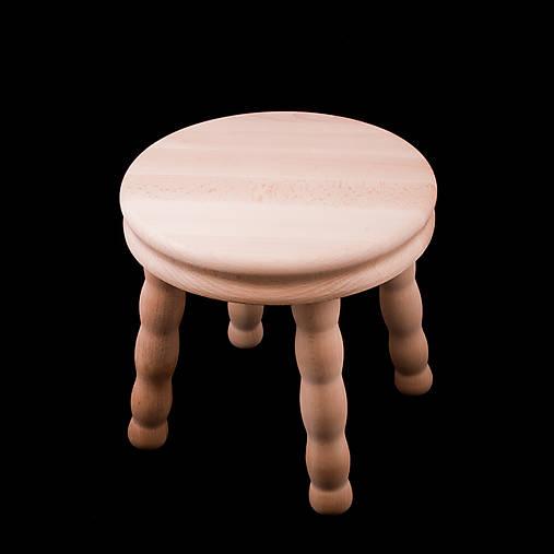 Mini drevená stolička