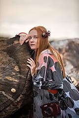 """Ozdoby do vlasov - Jesenný hrebienok """"vo vzduchu cítiť dážď"""" - 11186499_"""