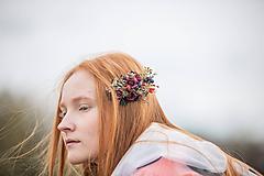 """Ozdoby do vlasov - Jesenný hrebienok """"vo vzduchu cítiť dážď"""" - 11186500_"""
