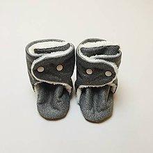 Topánočky - Softshellové čižmičky - 11188759_