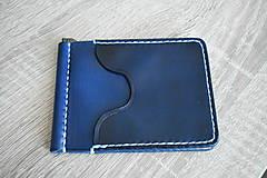 """Peňaženky - Kožená peňaženka - dolárovka """"easy"""" - 11187541_"""