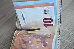 """Peňaženky - Kožená peňaženka - dolárovka """"easy"""" - 11187542_"""