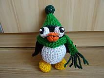 Dekorácie - Háčkovaný tučniak - 11188164_