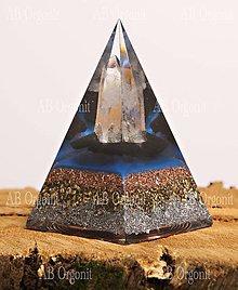 Dekorácie - Núbijská pyramída - orgonit - 11188643_