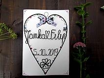 Papiernictvo - svadobné prianie - 11185730_
