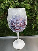 Dekorácie - zima - pohár 1 - 11187838_