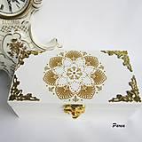 Krabičky - Krabička s krúžkami na servítky - 11191792_