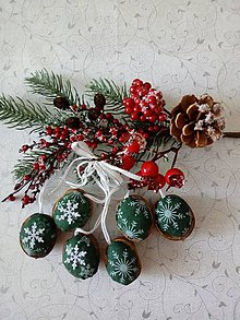 Dekorácie - Vianočné oriešky - 11192161_
