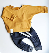Detské oblečenie - Oversize mikina - 11191182_