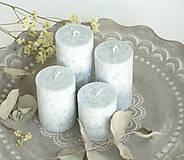 Svietidlá a sviečky - Iceberg - adventné sviečky - 11190389_