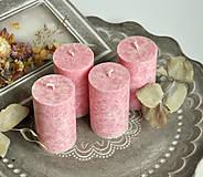 Svietidlá a sviečky - Flirty Flamingo - adventné sviečky - 11190526_