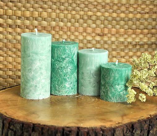 Emerald - adventné sviečky