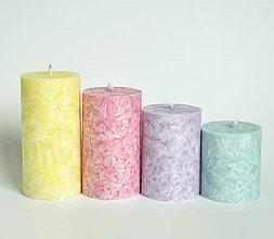 Svietidlá a sviečky - Unicorn - adventné sviečky - 11190466_