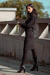 Šaty - FNDLK úpletové šaty 431 NuVdL - 11190056_