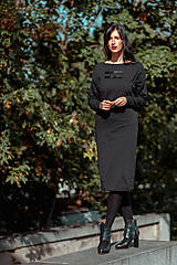 Šaty - FNDLK úpletové šaty 431 NuVdL - 11190057_